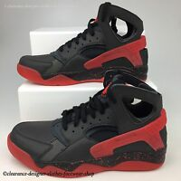 NIKE AIR FLIGHT HUARACHE PRM QS TRAINERS NEW RARE LOVE HATE PACK SHOES UK 10