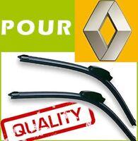 BALAIS ESSUIE GLACE AERO pour Renault 19 21 Kangoo 2 x 500mm