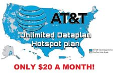 At&T Unlimited 4G Lte Data Account | Att $20 / month You Own It!