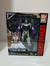 Octone w/Murk Transformers Titans Return MISB New in Package Voyager Class 2017