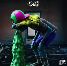 """Mighty Jaxx 8"""" Vomit Kid By OKEH Vinyl Figure NEW"""