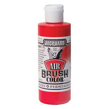 Jacquard Air Brush Colours Paint for Shoes / Sneakers - Transparent Red - 4oz