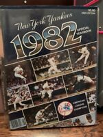 New York Yankees Official Yearbooks 1982 1987 1992 (All 3)