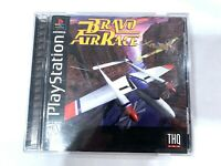 Bravo Air Race SONY PLAYSTATION 1 PS1 Game Tested Working COMPLETE CIB