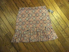New!  Chaps by Ralph Lauren Americana Print Stretch Skirt     Size XL   $65.00