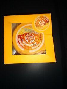 The Body Shop Honeymania Gift Set Shower Gel Body Butter Bath Pouf NEW RETIRED