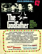 The Godfather & Other Motion Picture Sheet Music Piano #16 John Brimhall (G8)