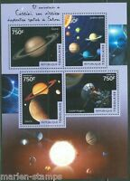 TOGO 2014  10th ANNIVERSARY OF THE CASSINI SPACECRAFT  TO SATURN SHEET MINT NH