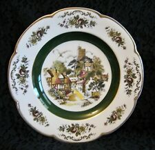 WOOD & SONS ASCOT PLATE Collectible Wall Decoration Only Village England