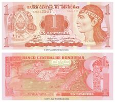Honduras 1 Lempira  2008  P-89a Banknotes UNC