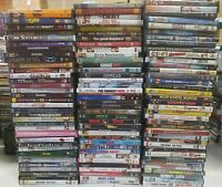 Wholesale Bulk Lot of 90 Assorted Used DVD movies