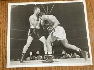 Stunningly Clean Original 1952 Rocky Marciano Type 2 Boxing Photo  Mint