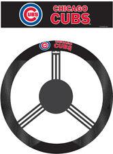 Chicago Cubs Steering Wheel Cover MLB Baseball Team Logo Poly Mesh
