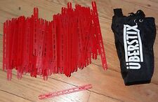 I-Stix Pack of 100 Red I Stix with Uberstix bag Construction Building Toy