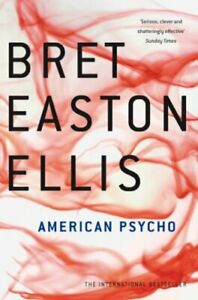 American Psycho by Easton Ellis, Bret Paperback Book The Cheap Fast Free Post