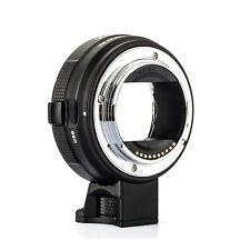 New Commlite CM-EF-E HS AF Lens Adapter for Canon EF/EF-S Lens to Sony E Cameras