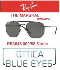 Occhiali da Sole RAY BAN SUNGLASSES RB 3648 002/58 51mm RAYBAN THE MARSHAL POLAR