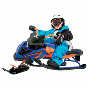 Yamaha Viper Kids Snow Bike with Steel Frame and Adjustable Seat (Ages 6+)