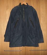 Ladies BARBOUR COLDSTREAM WATERPROOF BREATHABLE Navy Blue Coat Jacket Size 10-12