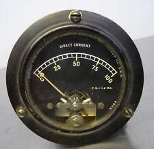Ancien Avion Cockpit Instrument température couteau