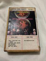 IRON BUTTERFLY GADDA-DA-VIDA SNAP CASE CASSETTE Tape Ampex