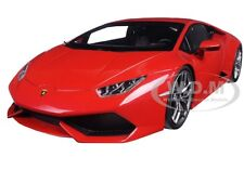 LAMBORGHINI HURACAN LP610-4 RED 1/18 DIECAST MODEL CAR BY KYOSHO 09511 RM