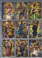 1994-95 Fleer Tower of Power Complete Insert Set #1-10 Ewing Kemp O'Neal Malone+