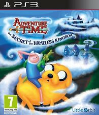 ADVENTURE Time-IL SEGRETO DEL REGNO Nameless per PAL PS3 (NUOVO E SIGILLATO)