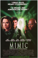 MIMIC MOVIE POSTER Mira Sorvino Original SS 27x40 Video Store One Sheet