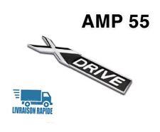 Logo Embleme BMW XDRIVE X Chrome Insigne Stickers Porte Capot Aile Gauche Droite