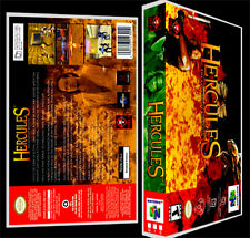 Hercules The Legendary Journeys - N64 Reproduction Art Case/Box No Game.