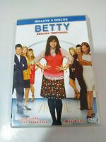 BETTY LA FEA UGLY BETTY TEMPORADA 2 COMPLETA - 5 DVD ESPAÑOL ENGLISH ITALIANO