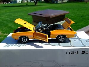 Danbury Likeness 1/24th Scale 1970 GTO JUDGE Convertible-VERY VERY NICE-