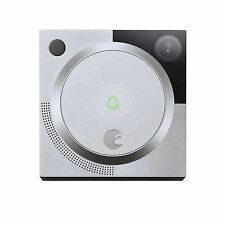 August Doorbell Cam, Silver - Brand New