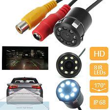 Rear Car Reversing View Camera Backup Parking 8LED IR Night Vision Waterproof HM