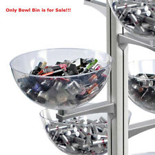 Polycarbonate Sky Tower Clear Bowl Display 8D inches with Extension Arm