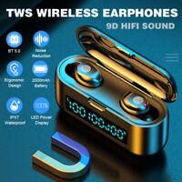 Mini TWS Earbuds Wireless Bluetooth 5.0 Headset Earphones Stereo Dual Headphone