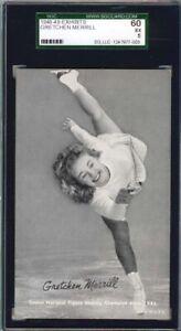 1948-49 Sports Champion Exhibits,Merrill,SGC60,Black/White Tint,5 Higher