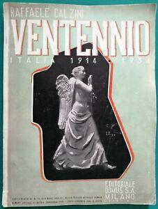 Architettura, design - Ventennio. Italia 1914/1934 - Calzini - Domus 1933