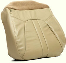 2000 to 2002 Ford Expedition Eddie Bauer Passenger Bottom Leather Seat Cover Tan