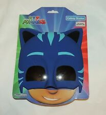 NEW Disney PJ Masks Catboy Shades Sun Stache Costume Sunglasses Mask Blue