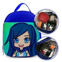 "Funneh 02 CUSTOM PRINTED LUNCHBOX FOR KIDS SIZE 7""L X 9""H X 3""W"