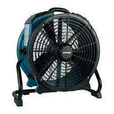 XPOWER X-47ATR Industrial Sealed Motor Axial Fan Air Mover w Power Outlet, Timer