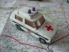 RANGE ROVER Ambulance Ancienne CORGI 1/43 dans l'état