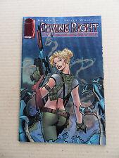 Divine Right 3 .Jim Lee Chromium Cover - Image / Wildstorm 1997 - VF / NM