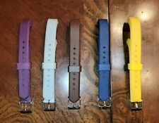 Lot / Bundle of 5 Replacement Bands for Fitbit Alta or Alta HR Adjustable Buckle