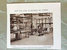 m17a7 picture ephemera 1930s bratby & hinchcliffe ltd Jam jar capping machine