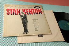 STAN KENTON LP POPULAR FAVORITES ORIG USA '60 EX TOP RARE JAZZ !!!!!!!!!!!!!!!!!
