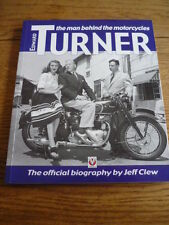 EDWARD TURNER, THE MAN BEHIND THE MOTORCYCLES, MOTORCYCLE BOOK