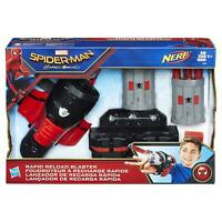 Marvel B9702 Spiderman Homecoming Rapid Reload NERF Blaster Action Toy